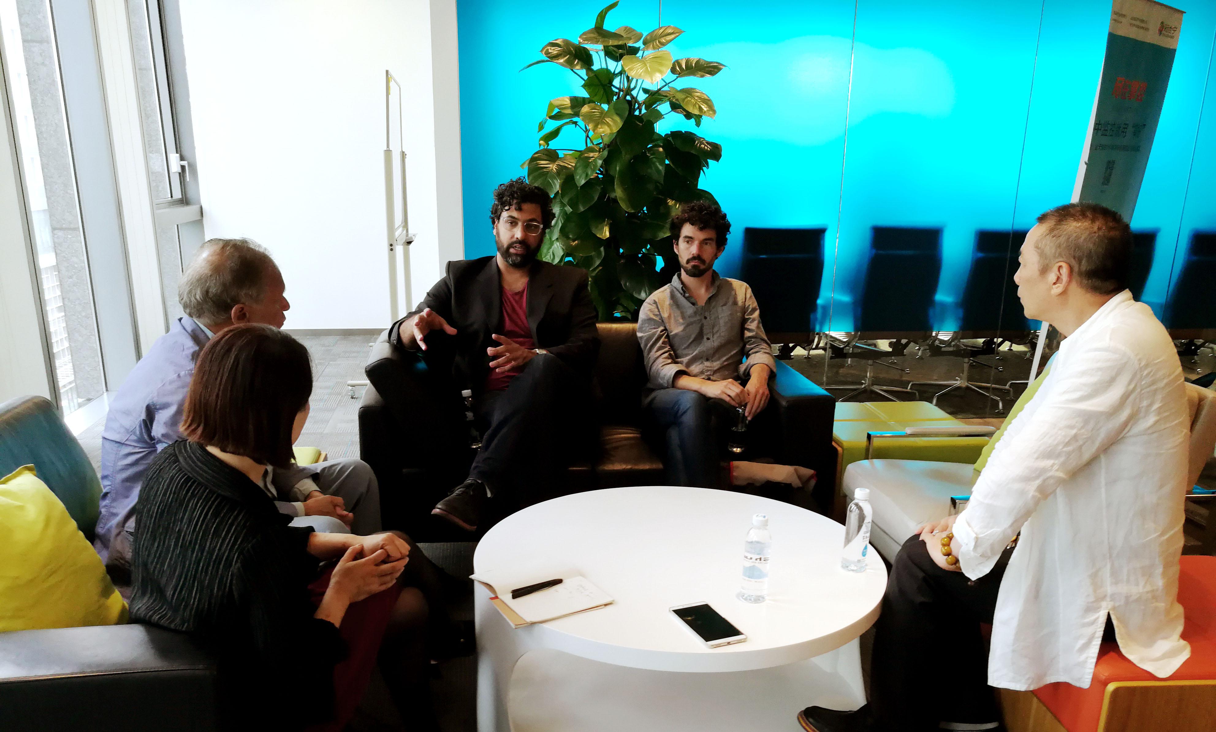 與美國斯坦福大學專家教授在北京的交流活動